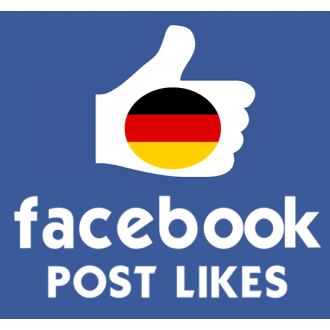 10 Deutsche Facebook Post/Photo/Video Likes für Dich